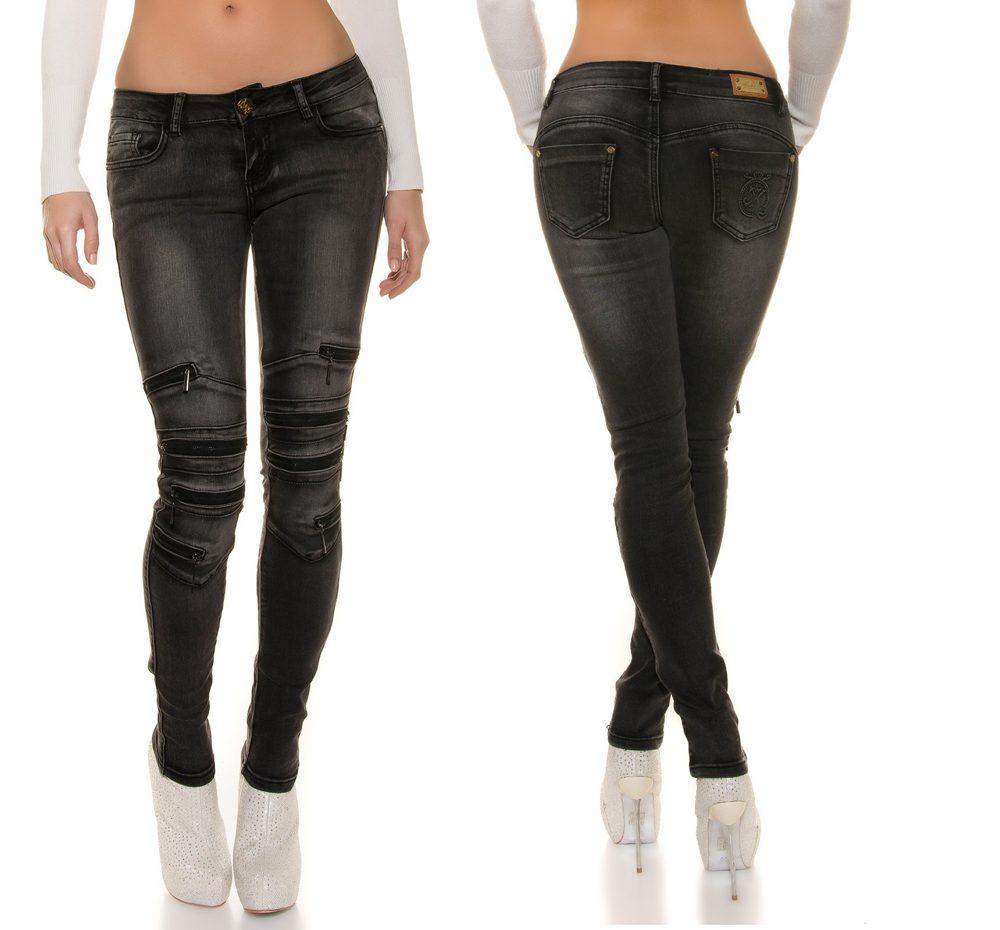 jeans avec fermeture clair. Black Bedroom Furniture Sets. Home Design Ideas