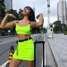 NEONGREEN TWO PIECE SET