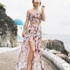 FLOWER TWO PIECE SET