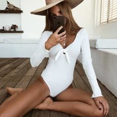 Bodysuit White