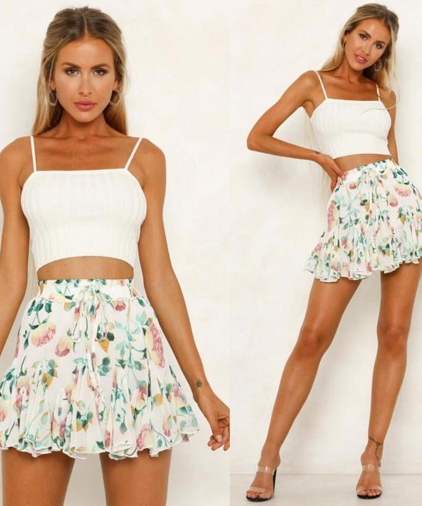 WILD INSTINCT MINI SKIRT PINK