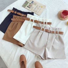 HIGH WAIST SHORTS ELEGANT