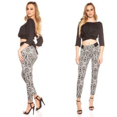 Pants Geometric Pattern