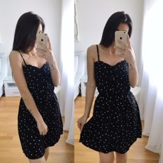 HEART BLACK DRESS