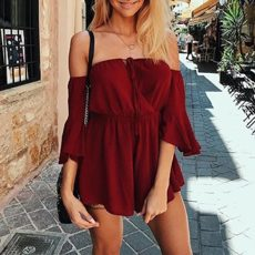 Playsuit Red